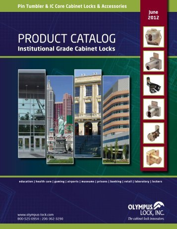 PRODUCT CATALOG - Olympus Lock