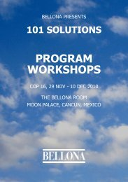 101 Solutions Program Workshops - Cancun(1.97MB) - Bellona
