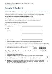 Blanket for betalingstilsagn til Realkompetencevurdering