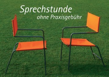 Sprechstunde - Berliner Bündnis gegen Depression