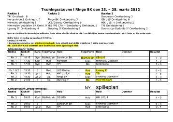 Resultater fra Øens Hold Cup 2012 - U 17-drenge i Ringe - Støvring IF