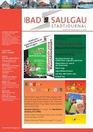 Kinder- Sommer 2009 - Stadt Bad Saulgau
