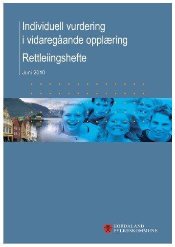 Vurdering - rettleiingshefte - Fusa vidaregåande skule - Hordaland ...