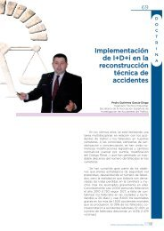 Implementación de I+D+i en la reconstrucción técnica de accidentes