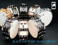 Black panther catalog - mapex drums