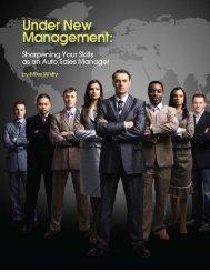 Under New Management - Sales Training Store