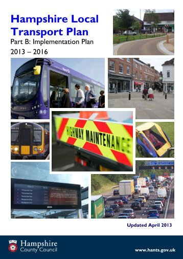 Part B: Implementation Plan - Hampshire County Council