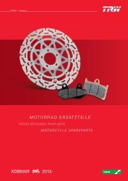 Motorrad Katalog 2013 Ersatzteile - Hawg-Shop GmbH