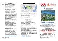Samstag, 6. Oktober 2012 14:00 – ca. 18:00 Uhr - Nieren Selbsthilfe ...