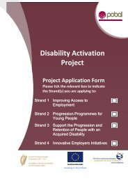Disability Activation Project Application Form 2012.pdf - Pobal