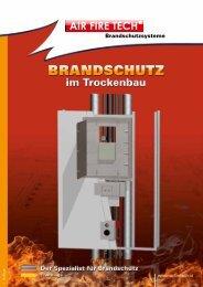 Brandschutz im Trockenbau für Deutschland - AIR FIRE TECH