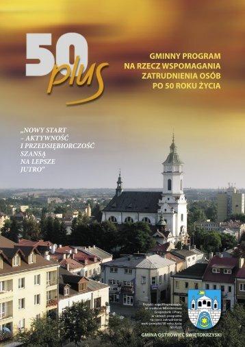 50 plus A4 10.indd - Gminne Centrum Informacji w Ostrowcu Św.