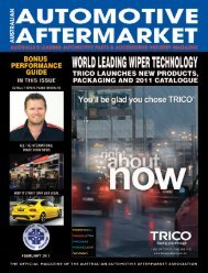 products - Australian Automotive Aftermarket Magazine