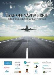 Take off Västsverige - högre tillgänglighet ger ökad tillväxt - Swedavia