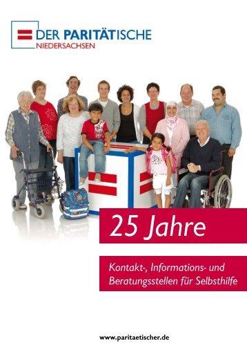 25 Jahre Selbsthilfe - Landesverband Paritätischer Niedersachsen ...