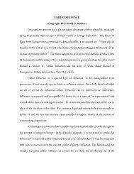 UNDUE INFLUENCE - Legal Assistance for Seniors