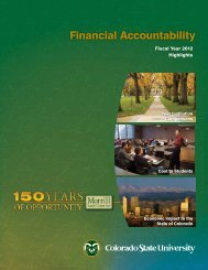 Financial Accountability Report - Business and Financial Services ...