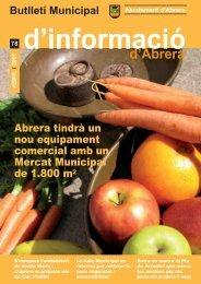 Abril - Ajuntament d'Abrera