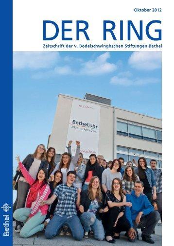Oktober 2012 - v. Bodelschwinghsche Stiftungen Bethel