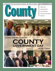May / June 2013 - Texas Association of Counties