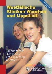 Westfälische Kliniken Warstein und Lippstadt - Klinikmagazin