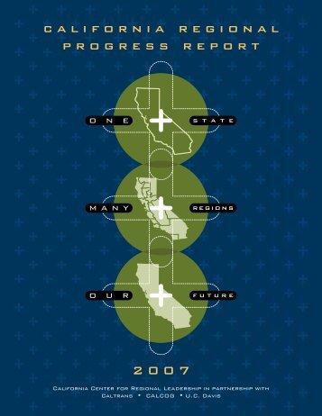 CA Regional Progress Report - 2007 - Council of Fresno County ...