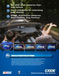Download Exide Automotive Family Brochure - Exide Technologies
