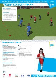 Rugby league - touch - School Games