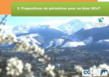 2. Propositions de périmètres pour un futur SCoT - Bagnères de ...