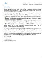 IATA 2007 Report on Alternative Fuels