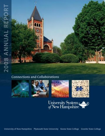 2008 Annual Report - USNH Financial Services - University System ...