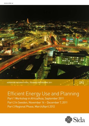 Efficient Energy Use and Planning - Sida