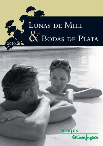 Lunas de Miel &Bodas de Plata - Viajes El Corte Inglés