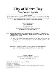 1.8.13 Agenda Packet - Morro Bay