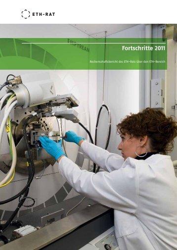 Fortschritte 2011 - ETH-Rat