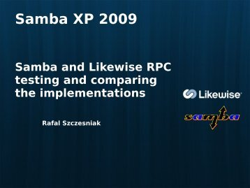 Rafal Szczesniak PDF - sambaXP
