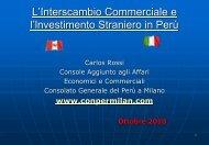 Consolato Generale del Perù a Milano - Promofirenze