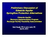 Springflow Baseline - EAHCP