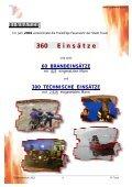Tätigkeitsbericht 2002 - Freiwillige Feuerwehr der Stadt Traun - Page 6