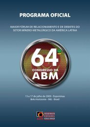 Programa Oficial (download) - ABM