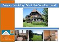 Raus aus dem Alltag…Rein in den Südschwarzwald - Immobilien.de