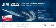 JIM 2012 - Eurocor GmbH