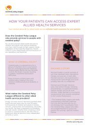 How your patients can access expert allied health services Q&A