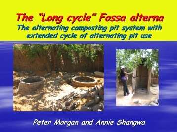 """The """"Long cycle"""" Fossa alterna - EcoSanRes"""