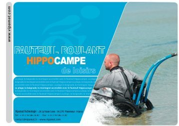 l'achat de fauteuils tout terrain Hippocampe