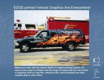 EDGE Vehicle Graphics Gallery (PDF) - Gerber Scientific Products