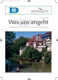 Von A –Z - Niere Baden-Württemberg eV