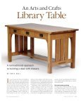 Free Download Arts and Crafts Library Table, An - Page 2