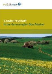der Stolz unserer Landwirte! - Genussregion Oberfranken