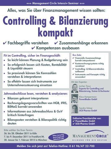 Controlling und Bilanzierung kompakt - Management Circle AG